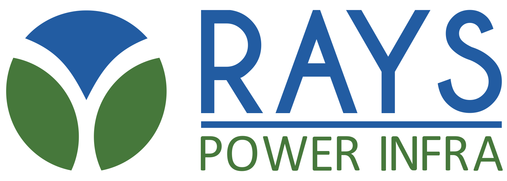 Rays power infra logo